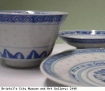 Chinese plate and cup