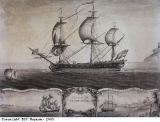 A View of ye Blandford Frigate