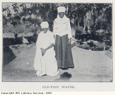 A former slave woman