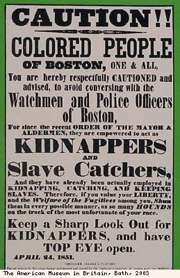 Abolitionism poster (detail)