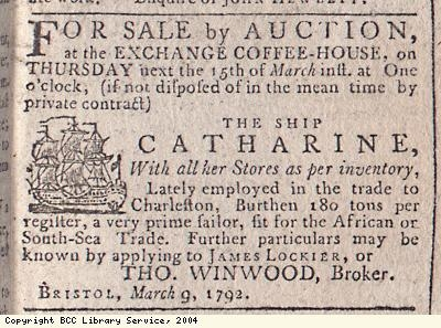 Advert, ship for sale