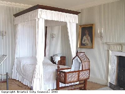 Bedroom in Georgian House