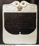 Copy of the footstone of the grave of Scipio Africanus