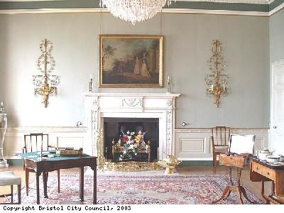 Drawing room in Georgian House