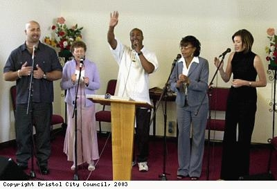 Members of the Ivy Church