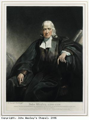 John Wesley in old age