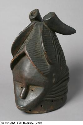 Wooden mask of Sande Society from Mende people