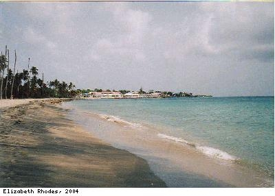 Photograph of Pinney's beach