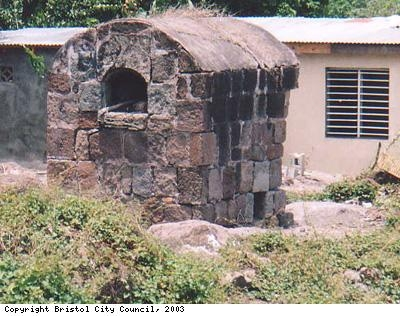 Oven used by local people
