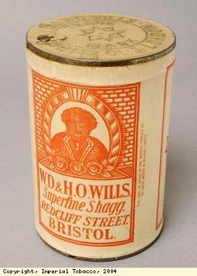 Tin of tobacco
