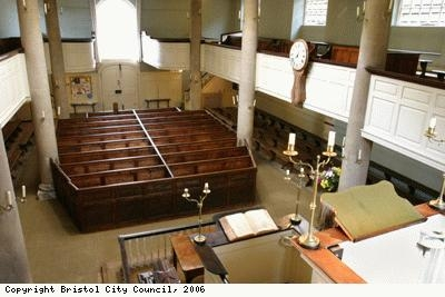 Wesley's view from the pulpit